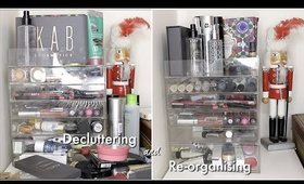 DECLUTTERING & ORGANISING MY ACRYLIC MAKEUP DRAWERS!!!