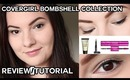 COVERGIRL Bombshell Tutorial/Review (ShineShadow, Liner, Mascara) | OliviaMakeupChannel