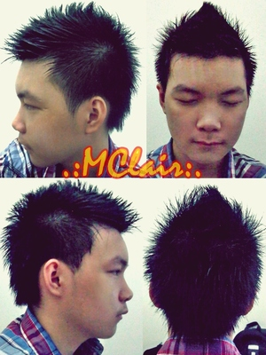First time doing men's cut :p