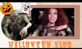 THE VLOG 2: Halloween, Teen Vogue Event, Haunted House & MORE || Alexis the G