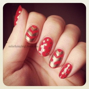 Dots and chevrons!