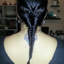 Double Twist Fishtail Braid