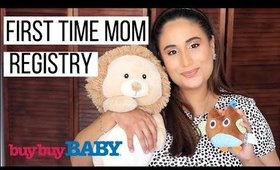 WHAT'S ON MY BABY REGISTRY - FOR FIRST TIME MOMS    Sam Bee Beauty
