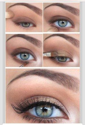 natural brown eye makeup  beautylish