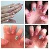 My rose nails
