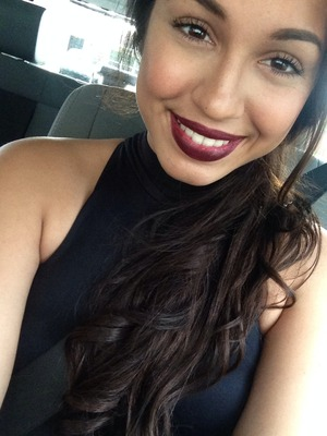 My makeup look for the Demi concert! <3