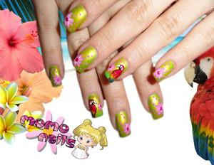 tropical nails :)
