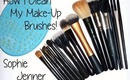 How I Clean My Make-Up Brushes!