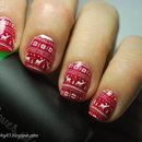 Christamas sweater nails