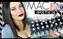 My MAC Lipstick Collection 2015