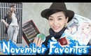 November Favorites 2014 [English Subs] 11月のお気に入り♡