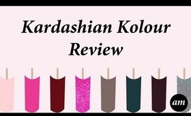 Kardashian Kolour Nail Polish Review