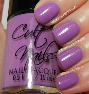 For Full review visit: http://www.letthemhavepolish.com/2013/06/cult-nails-dance-all-night-collection.html