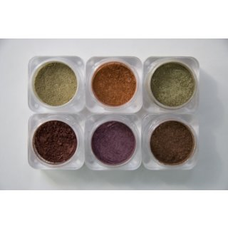 Milazzo Beauty Naked Cosmetics Color Collections in Urban Rustic