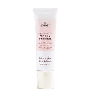 Jouer Cosmetics Anti-Blemish Matte Primer Salicylic Acid Acne Treatment