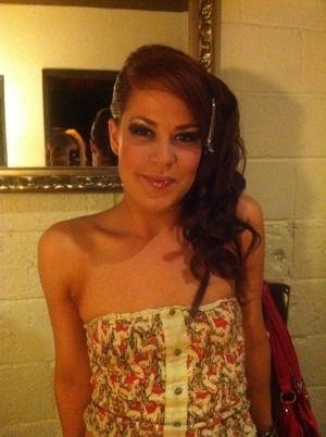 Hair and Makeup I did for a big show in Denver...