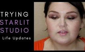 Trying Starlit Studio Makeup +  Life Updates