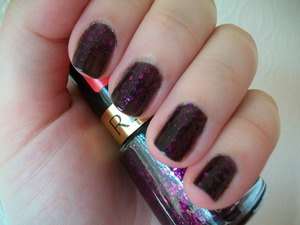 Revlon Facets of Fuchsia Nail Polish  To read my review of the polish please visit my blog:  www.mazmakeup.blogspot.com