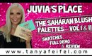 Juvia's Place | The Saharan Blush Palettes Vol I & II | Swatches | Demo | Review | Tanya Feifel