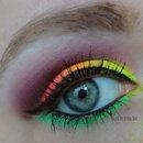 Neon Makeup - Sleek Acid Palette