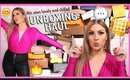 new makeup, free stuff & a GIVEAWAY! 😅 PR HAUL UNBOXING