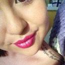 Hot pink lippy for uni!