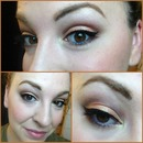 Peachy Prom Makeup