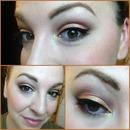 Peachy Prom Makeup