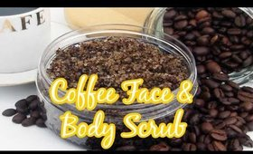 Coffee Face & Body Scrub gently remove dead skin cells which helps to rejuvenate & boost circulation