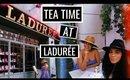 TEA TIME AT LADURÉE NYC