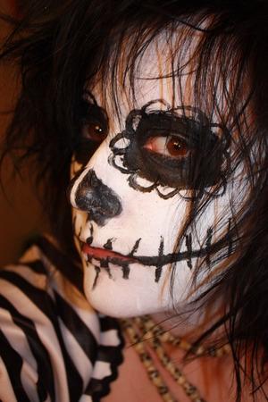 dayofthedead/skeleton makeup