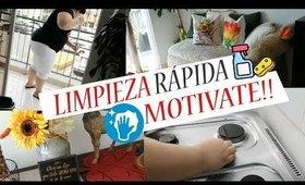 LIMPIEZA EXPRESS OTOÑO 2019-RUTINA DE LIMPIEZA RÁPIDA-LIMPIA CONMIGO-LIMPIA Y ORGANIZA TU CASA