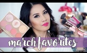 March Favorites 2016 ❤ Luxie, Jouer, Ardell, Etude House, & Youtubers