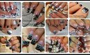Nail Art Compilation | 17 Black and White Designs ♥