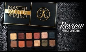 Anastasia Beverly Hills l Mario Eyeshadow Palette - Review + Live Brush Swatches!
