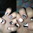 nails b&w