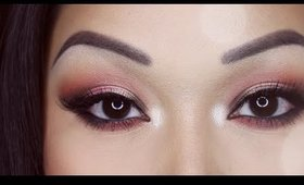 Rose Gold Halo Smokey Eye