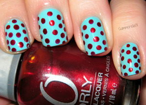 Finger Paints Tiffany Imposter and Orly Torrid
