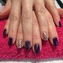 Red Carpet Manicure nail art