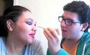 My Best Friend Does My Makeup Challenge