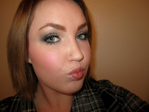 Look using Naked2 Palette