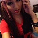 Harley Quinn Halloween makeup