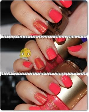 http://laundmakeup.blogspot.com/2011/08/nails-loreal-n455-golden-spurs-china.html