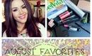 August Favorites 2013
