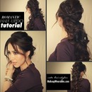 Fancy Curly Ponytail Tutorial Video | Cute Romantic Hairstyles