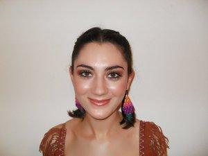 My sister as Pocahontas