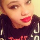 Smokey eyes cherry lips