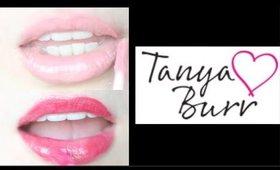 TANYA BURR LIP GLOSS REVIEW & DEMO