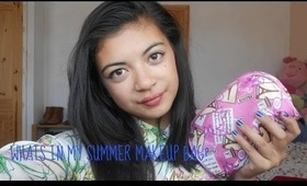 What's in my Summer Makeup Bag?