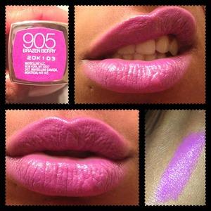 Light purple lips